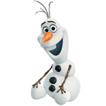 Frozen Stickers Olaf Disney's 1
