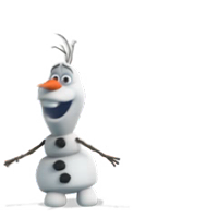 Olaf Disney's Frozen Stickers 10