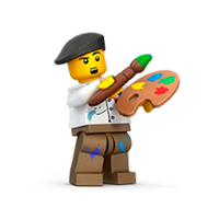 Lego Minifigures Sticker 29