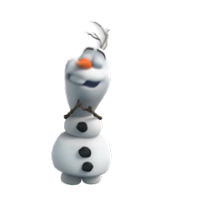 Olaf Disney Frozen Stickere 12