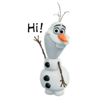 Olaf Disney Frozen Stickere 13