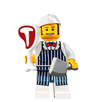 Lego Minifigures Sticker 10