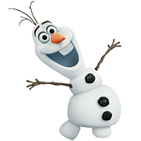 Olaf Disney Frozen Stickere 14