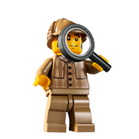 Lego Minifigures Sticker 12