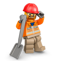 Lego Minifigures Sticker 13