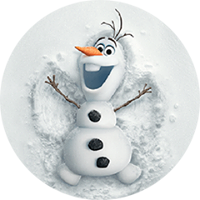 Olaf Disney Frozen Stickere 18