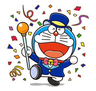 Doraemon Stickers 1