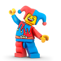 Lego Minifigures Sticker 16