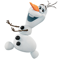 Olaf Disney's Frozen Stickers 21