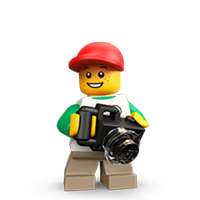 Lego Minifigures Sticker 18