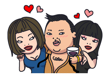 Psy Stickers Gangnam Style 21