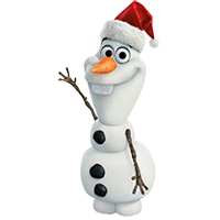 Olaf Disney Frozen Stickere 22