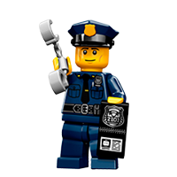 Lego Minifigures Sticker 19