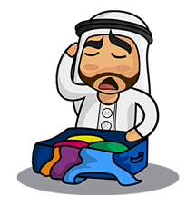 Arabia Stickers 1