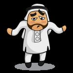 Arabien Aufkleber 23
