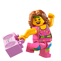 Lego Minifiguren Sticker 20