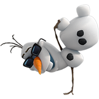 Olaf Disney Frozen Stickere 24