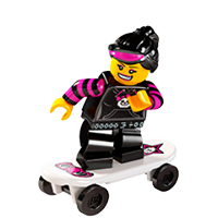 Lego Minifiguren Sticker 21