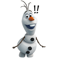 Olaf Disney's Frozen Stickers 26