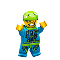 Lego Minifiguren Sticker 23