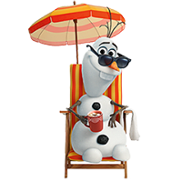 Olaf Disney Frozen Stickere 27