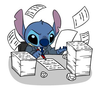 Stitch Stickers 34