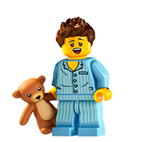 Lego Minifigures Sticker 24