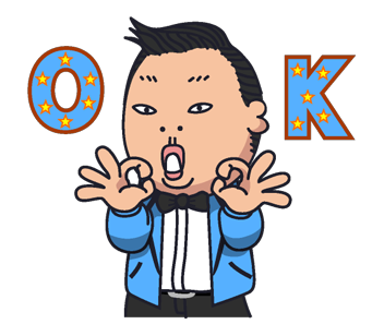 Psy Stickers Gangnam Style 27