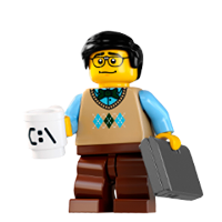 Lego Minifiguren Sticker 25