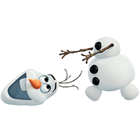 Olaf Disney Frozen Stickere 29