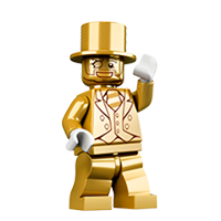 Lego Minifigures Sticker 26