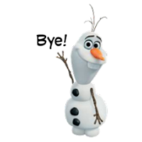 Olaf Disney Frozen Stickere 30
