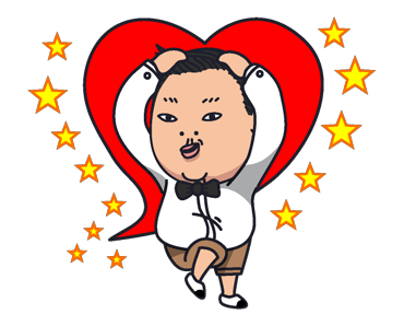 Psy Stickers Gangnam Style 30