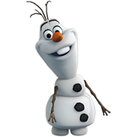 Olaf Disney Frozen Stickere 31