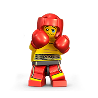 Lego Minifiguren Sticker 28