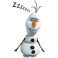 Olaf Disney's Frozen Stickers 32