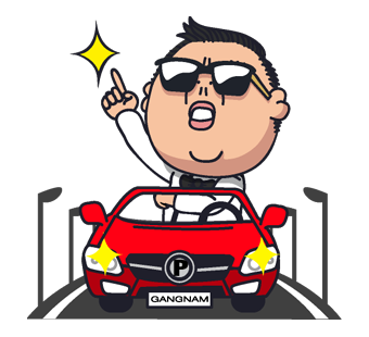 Psy Stickers Gangnam Style 33