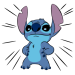 Stitch matricák 4