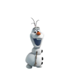 Frozen Stickers Olaf của Disney 4