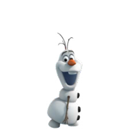 Olaf Disney's Frozen Stickers 4