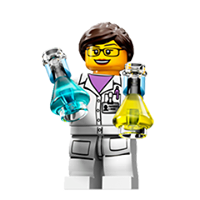 Lego Minifigures Sticker 1