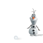 Frozen Stickers Olaf của Disney 5
