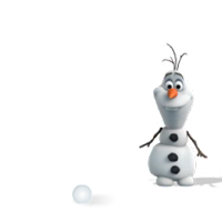 Olaf Disney Frozen Stickere 5