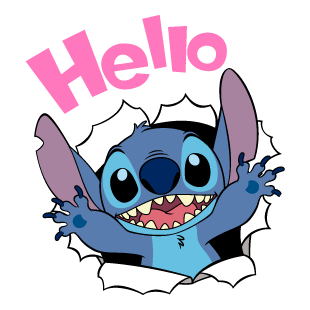 Stitch Stickers 1