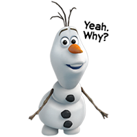 Olaf Disney Frozen Stickere 6