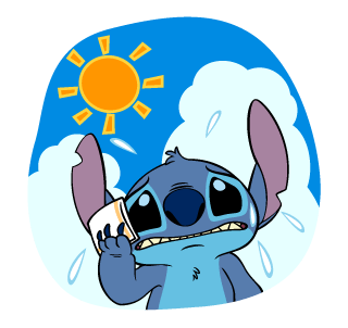 Stitch Stickers 12