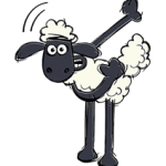 Shaun The Sheep Sticker 4