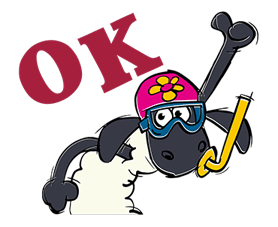 Shaun The Sheep Sticker 6