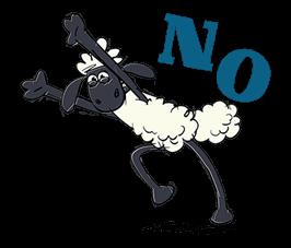 Shaun The Sheep Sticker 7