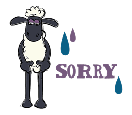 Shaun The Sheep Sticker 8